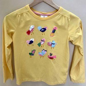 Hanna Andersson Bird shirt 140